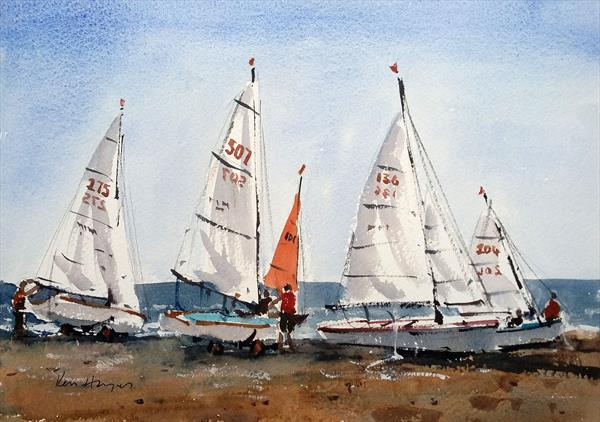 Setting Sails by Ken  Hayes