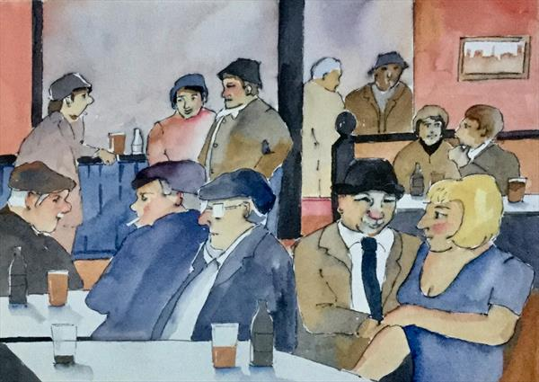 CHATTING IN THE PUB by Susan Shaw