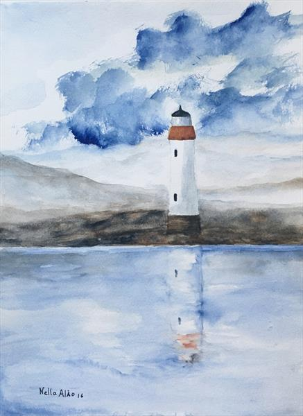 The Lighthouse  by Nella Alao