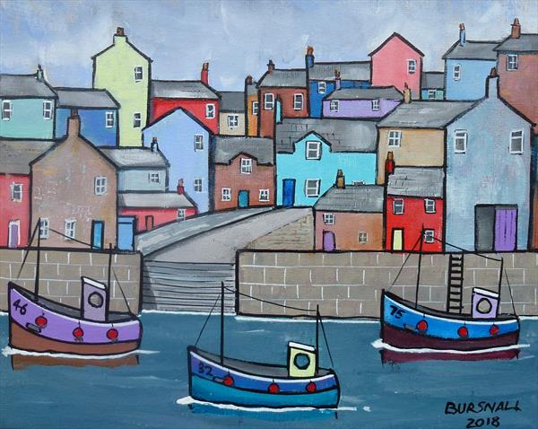 Steps quay by Paul Bursnall