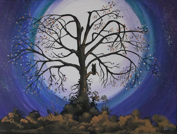 [Sold] The Wise Old Tree