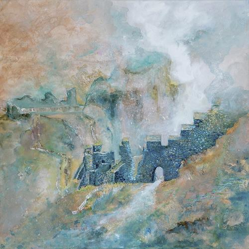Misty Tintagel by Diane Griffiths