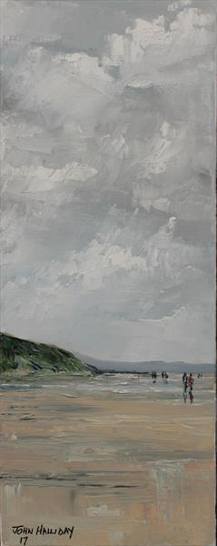 Rolling Clouds North Coast by John Halliday