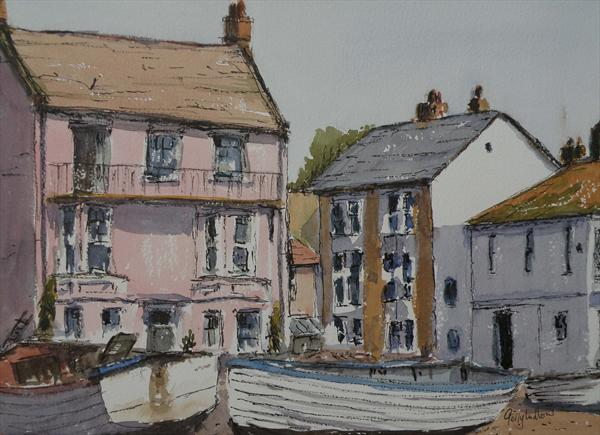 Boats At Aldeburgh by Gerry Ludlow