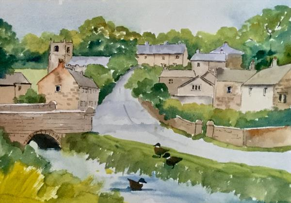 DOWNHAM IN PENDLE, SUMMER by Susan Shaw