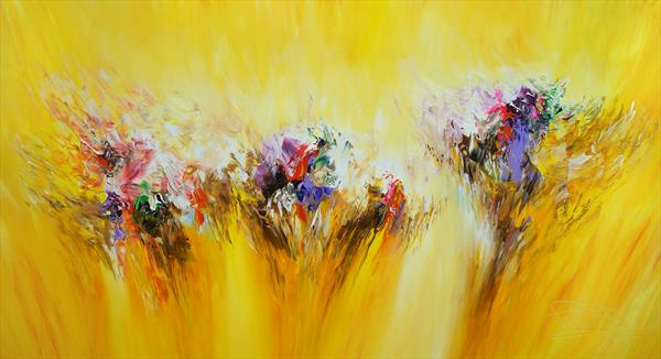 Yellow Dream L 1 by Peter Nottrott