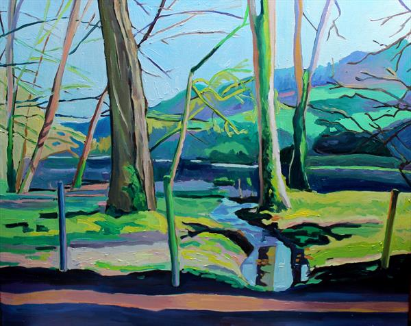 A Cotswolds Landscape  by Emma Cownie