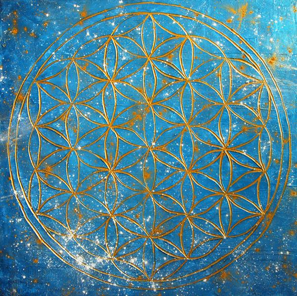 Flower of Life I. by Sarah I. Avni