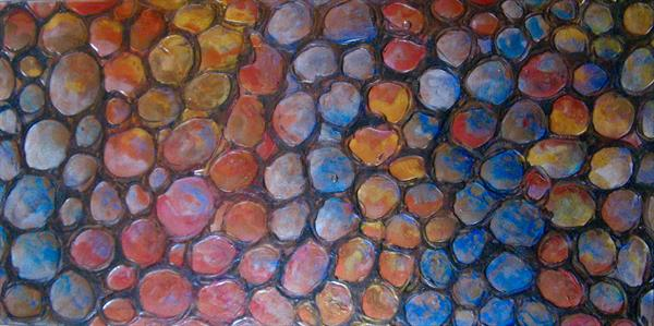 Rainbow impressions 2 - Currently showing at Malvern gallery by Fiona Robinson