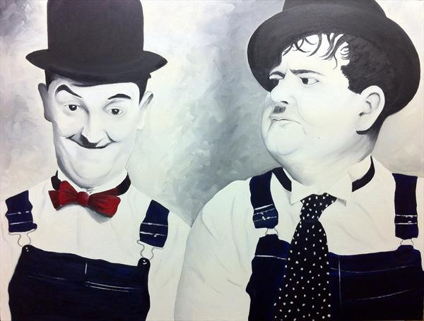 Stan & Ollie by David Melrose