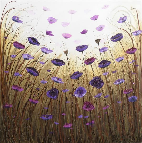 Purple Poppy Savannah (On display in Malvern Theatres)