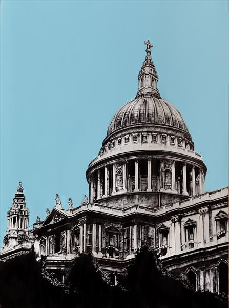 St.Paul's Cathedral by Dean Waite