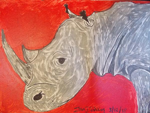 Red for endangered. by Ian Dodding
