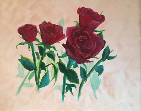 Roses are Red by Matthew Salik