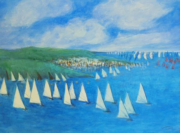 COWES WEEK by John Davies