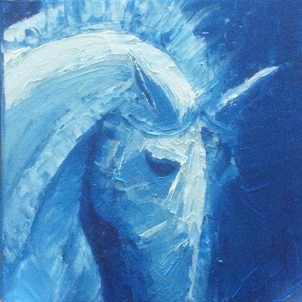 Blue Horse by Helen Forster