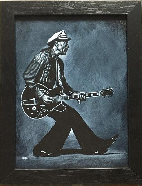 Chuck Berry Tribute by Karl Hamilton-cox