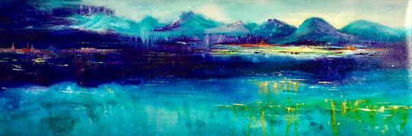 Shades of Blue by June Gordon