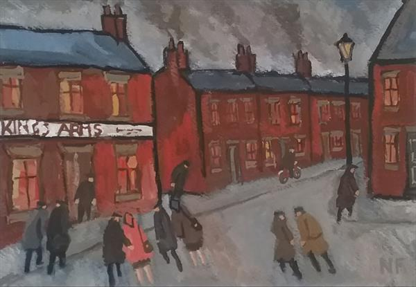 """""""The Kings Arms"""" (Framed)"""
