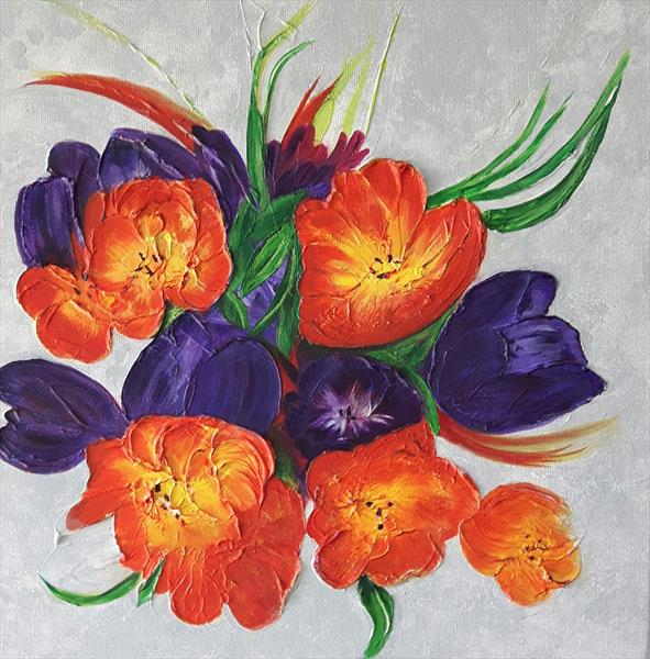 Tulips by Sheila Greenall