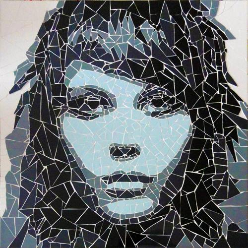 New Girl (Ceramic Tile Fragments)