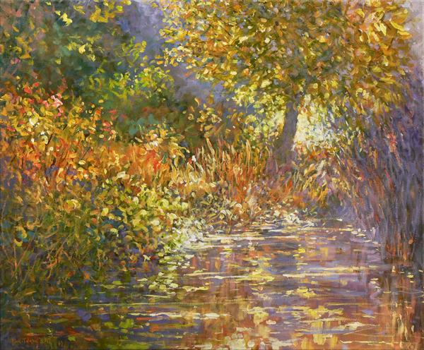 Secret Rivulet (On Display At the Art Gallery, Tetbury) by Mariusz Kaldowski