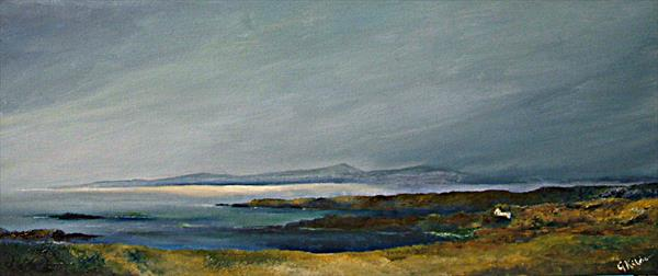 Islay from Gigha by Gary Kitchen