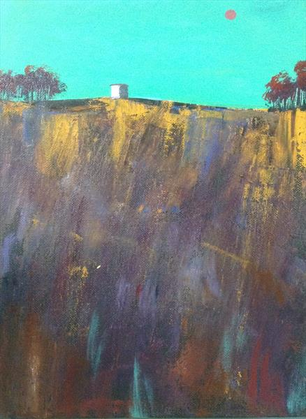 High on a Tuscan Hill by Sarah Gill