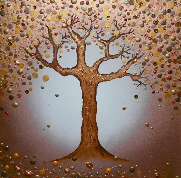 Coppery Magical Tree by Tracy Jolly