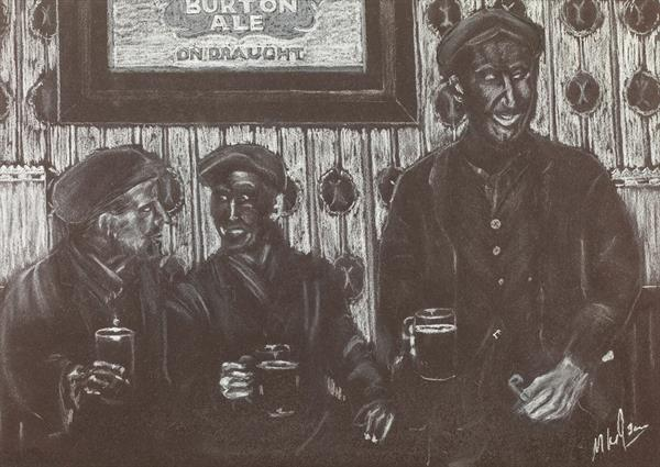 Welsh Miners - One Before Home by Mike Isaac