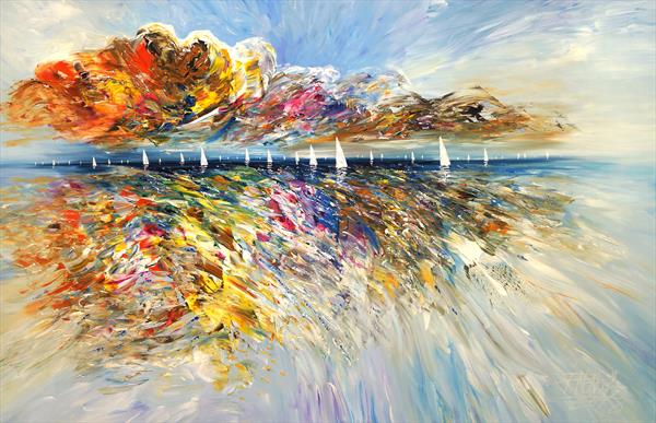 Seascape Sailing Impressions XL 4 by Peter Nottrott