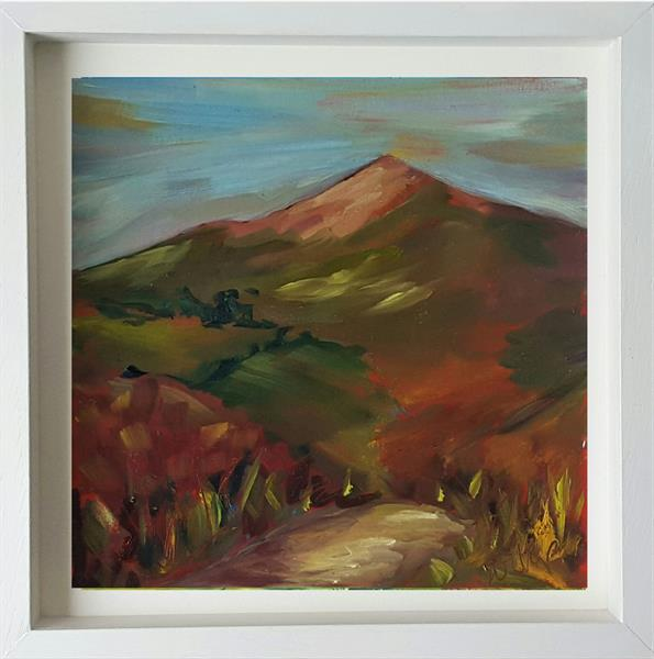 A Touch of Autumn on the Sugarloaf, Co.Wicklow  by niki purcell