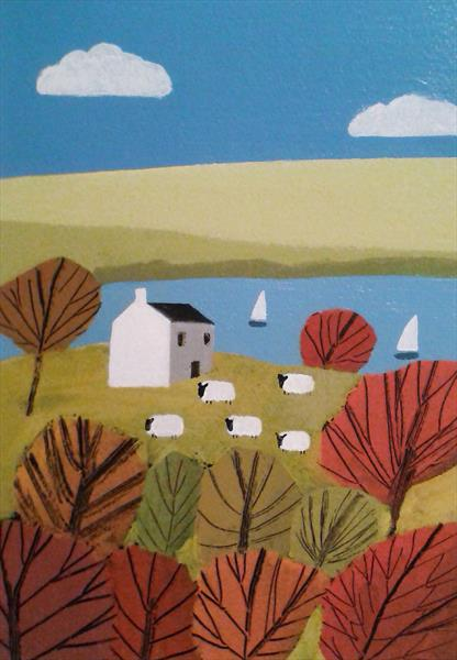 Rural Bliss 5 by Jan Rippingham