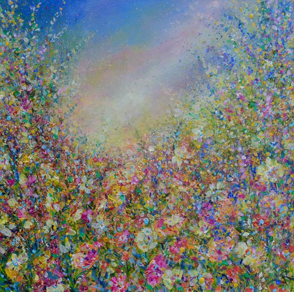 Impressionist Floral  by Janice  Rogers
