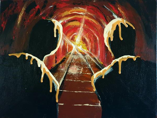 The Soothing Light at the end of the Tunnel  by Georgiana Nicolae