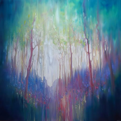 The Promise - an abstract woodland glade