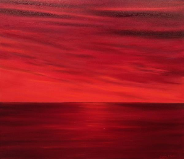 RED SUNSET by ANDREW HASLER