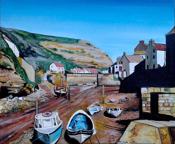 Staithes by Spencer   Derry