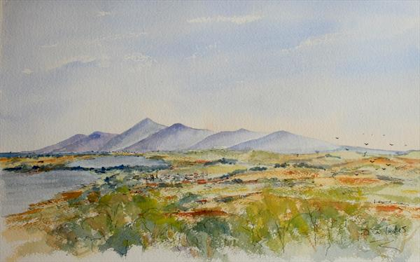The Mourne Mountains by Brian Tucker