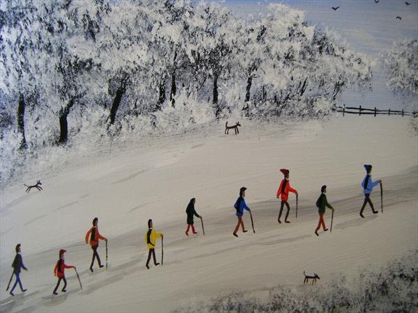 The Snow Walkers by Stephen Casey