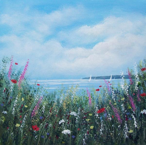 Coastal Wild Flowers 2# - reserved by Patricia Richards