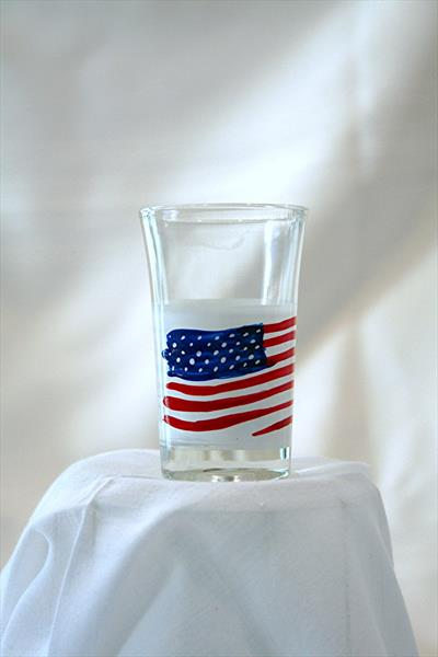 shot / dessert glass - patriot by Andre Dluhos