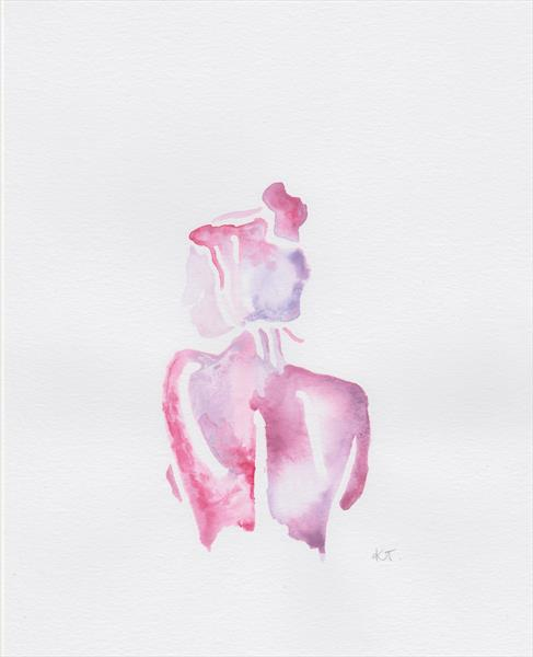 Found within. Watercolour by Keziah Taylor