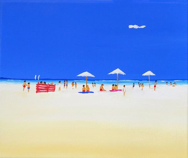 Beach Time by Paul Oughton
