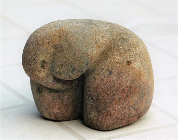Baby Elephant, Sandstone by adrian parker