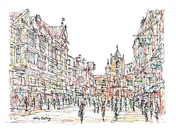 Chester City Cheshire by Brian Keating ANCAD