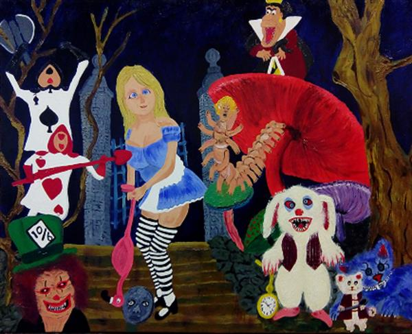 Alice in ScaryLand by Corinne Hamer