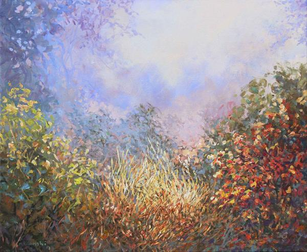 Autumn Light At Toys Hill (On Display At the Art Gallery, Tetbury)