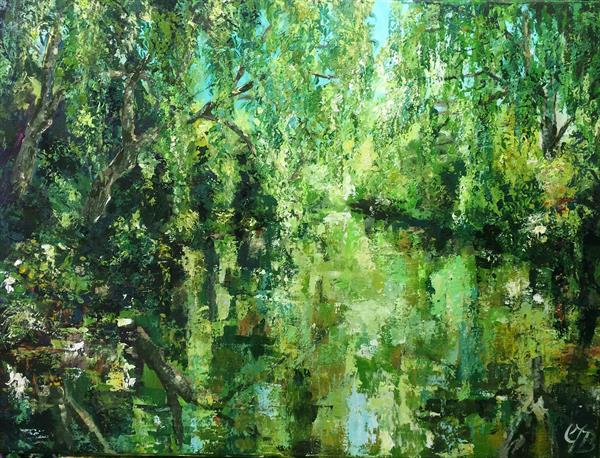 Reflections on a River by Colette Baumback