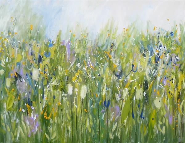Summer Garden 7 by Jan Rippingham